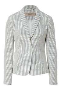 Burberry Brit Stripes Natural & Indigo (stripes) Blazer