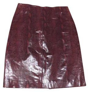 Saks Fifth Avenue Skirt Red/Black