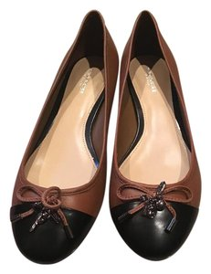 Coach Black and brown Flats