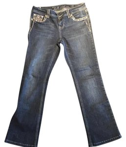 LA Idol Boot Cut Jeans-Medium Wash
