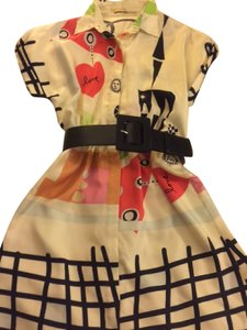 Alice + Olivia short dress Multi + Candid Love Print on Tradesy