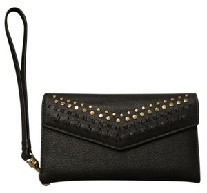 Rebecca Minkoff Studded Whipstich In Black