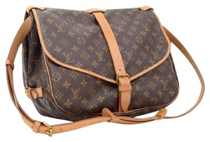 Louis Vuitton Lv Saumur 35 Monogram Vintage Shoulder Bag