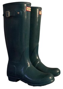 Hunter Teal Boots
