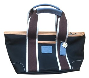 Coach Nylon Canvas Hamptons Weekend Tote in Black, Brown, Blue