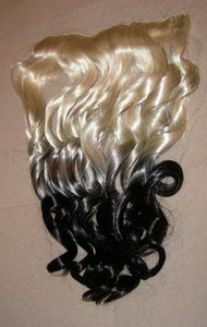 Blonde To Black Full Head Hair Extension Free Shipping