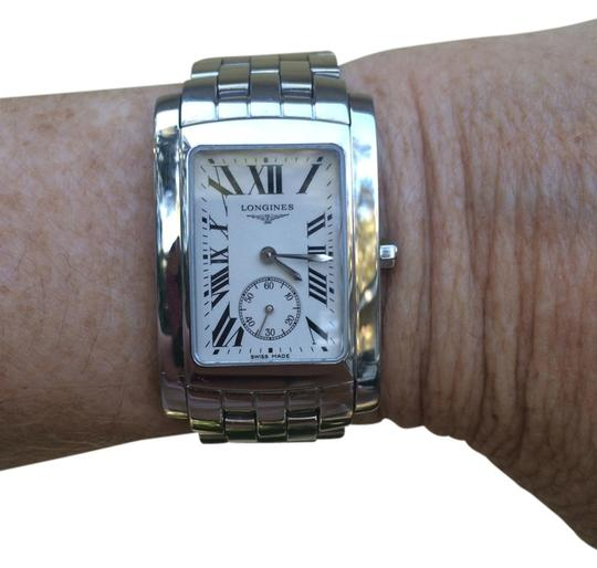 Preload https://item4.tradesy.com/images/longines-stainless-steel-dolce-vita-tank-style-ladies-watch-2042918-0-0.jpg?width=440&height=440