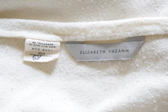 Elizabeth Suzann Raw Silk Made In Nashville Made In Usa Ethical Top beige Image 3