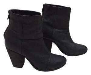 Rag & Bone Leather Signature Classic Black Boots