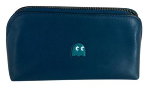 Coach PAC MAN COSMETIC CASE CALF LEATHER COACH F56712