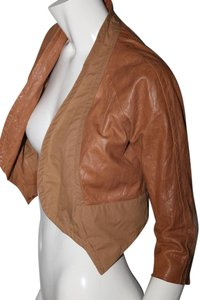 Yigal Azrouël beige Leather Jacket
