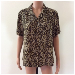 Crazy Horse by Liz Claiborne Top Brown