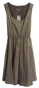 Charlotte Russe short dress Taupe on Tradesy