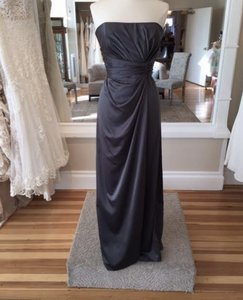 Amsale Charcoal G745h Dress