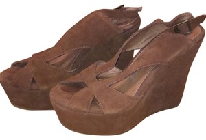 Jeffrey Campbell Brown Wedges