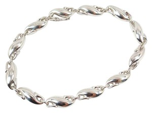 Tiffany & Co. Vintage Tiffany & Co Peretti Sterling Silver Seahorse Link Bracelet