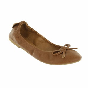 Red Circle Footwear Camel Flats