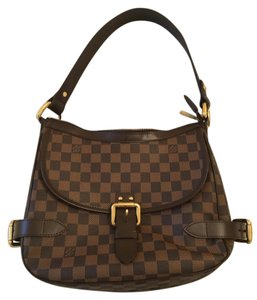 Louis Vuitton Limited Edition Highbury Damier Canvas Hobo Bag