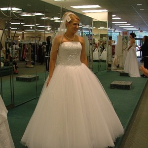 David's Bridal Cu 099 Wedding Dress