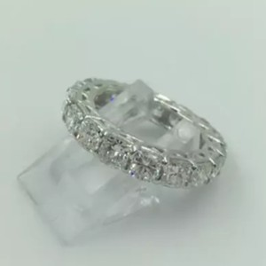 Platinum Diamond Eternity Band Never Worn