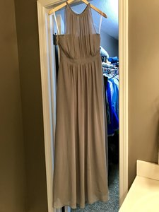 Bari Jay Grey Grey Bridesmaids Dress Dress