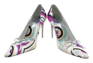 Emilio Pucci Multi-Color Pumps