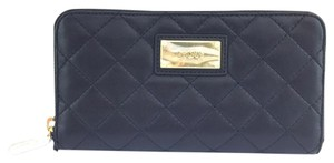 DKNY #9905 BLACK QUILTED NAPPA leather WALLET purse GANSEVOORT