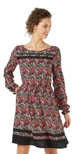 LC Lauren Conrad short dress Floral Longsleeve on Tradesy