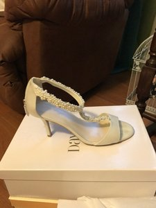 David's Bridal Loren Ivory Wedding Shoes