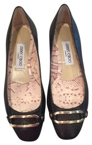 Jimmy Choo Never Worn Black Flats