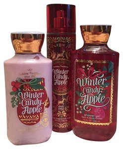 Bath and Body Works Winter Candy Apple Gift Set