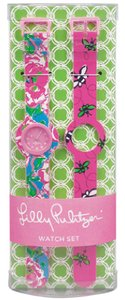 Lilly Pulitzer Lily Pulitzer Interchangeable Watch Set