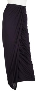 Yigal Azrouël Maxi Skirt Navy Blue