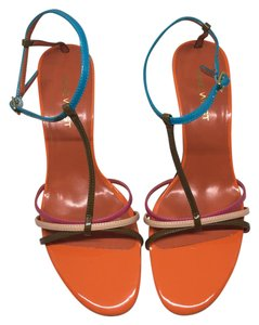 Nine West Strappy Multi Sandals