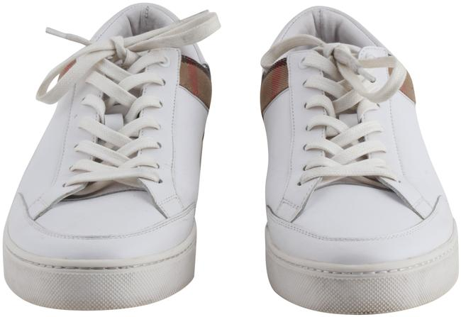 Item - White Rettford Panelled Low-top Leather Trainers Boots/Booties Size US 9 Regular (M, B)