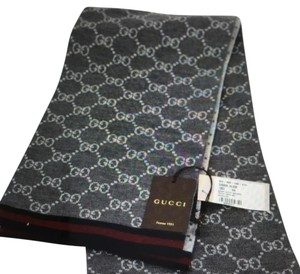Gucci 325806 Wool Reversible GG Guccissima Scarf