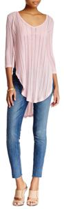 Free People Ob497978 Pink Tunic