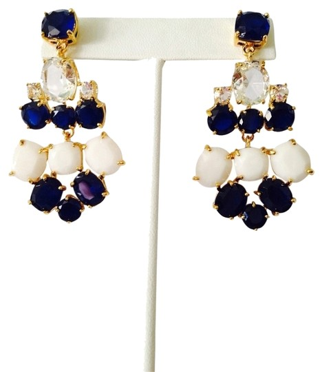 Preload https://item1.tradesy.com/images/navywhitegold-south-hampton-faceted-navywhite-chandelier-earrings-2043095-0-0.jpg?width=440&height=440