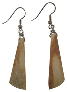Other NEW Handmade Carved Bone Long Dangle EARRINGS