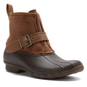 Sperry Topsider Womens Rip Brown Boots
