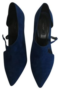 Zara Royal Blue Pumps