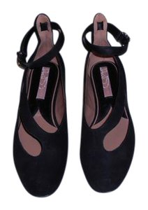 Vivienne Westwood Sophisticated Design Made In Italy Black Flats