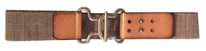 Fossil Stretch-Adjustable Fossil Belt with Genuine Leather