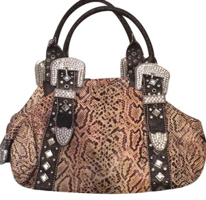 Charm and Luck Satchel in Brown