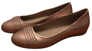 Ecco taupe Flats