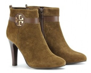 Tory Burch Suede Olive Boots