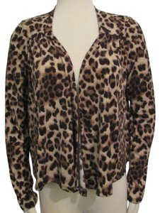 Double Zero New Leopard Shrug Stretchy Cardigan