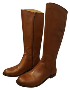 Ciao Bella Riding Riding Leather Brown Boots