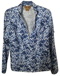 Peck & Peck blue and white Jacket