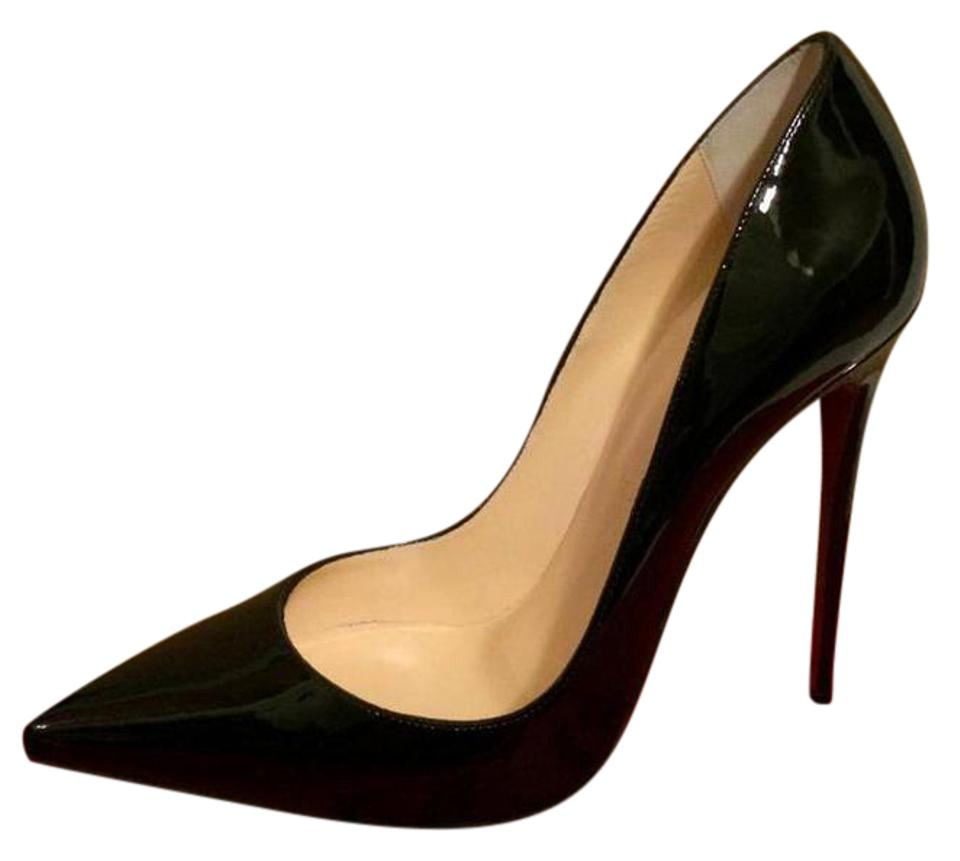 6be1bfe483 Christian Louboutin Black So Kate 120 Patent Leather Stilletto Pumps. Size: EU  37 (Approx. US 7) ...